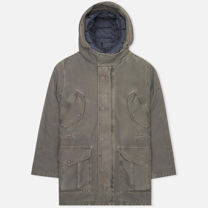 Мужская зимняя куртка Nemen Field Goose Down Liner Dark Grey