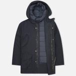 Мужская зимняя куртка Nemen Field Goose Down Liner Navy фото- 1