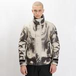 Мужская зимняя куртка Stone Island Ice Dyneema Bonded Leather Beige фото- 12