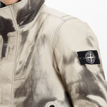 Мужская зимняя куртка Stone Island Ice Dyneema Bonded Leather Beige фото- 17