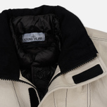 Мужская зимняя куртка Stone Island Ice Dyneema Bonded Leather Beige фото- 4