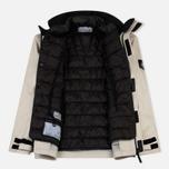 Мужская зимняя куртка Stone Island Ice Dyneema Bonded Leather Beige фото- 5