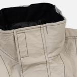 Мужская зимняя куртка Stone Island Ice Dyneema Bonded Leather Beige фото- 6