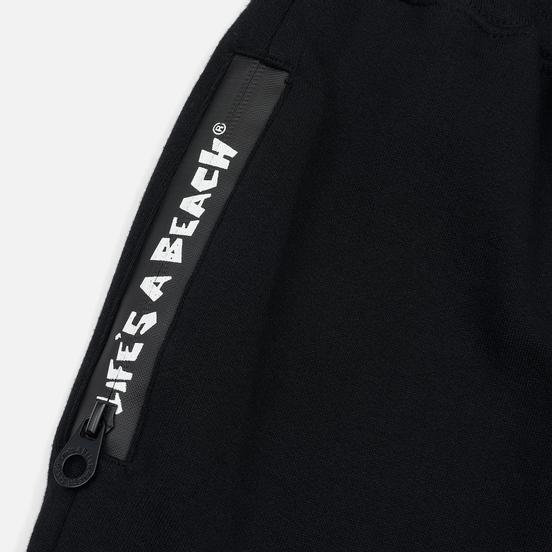 Мужские брюки Life's a Beach Reflective Box Logo Track Black