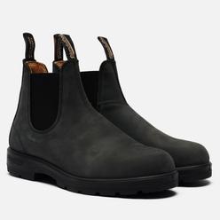 Ботинки Blundstone 587 Round Toe Chelsea Leather Black