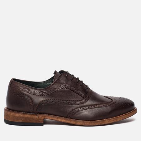 Мужские ботинки броги Barbour Beale Brown