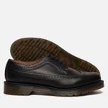 Мужские ботинки броги Dr. Martens 3989 Smooth Black фото- 1