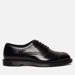 Мужские ботинки броги Dr. Martens Morris Polished Smooth Black фото- 0