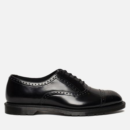 Мужские ботинки броги Dr. Martens Morris Polished Smooth Black