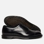 Мужские ботинки броги Dr. Martens Morris Polished Smooth Black фото- 1