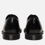 Мужские ботинки броги Dr. Martens Morris Polished Smooth Black фото- 3