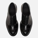 Мужские ботинки броги Dr. Martens Morris Polished Smooth Black фото- 4