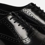 Мужские ботинки броги Dr. Martens Morris Polished Smooth Black фото- 5