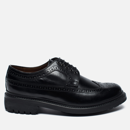 Grenson Sid Leather Men's Brogue Black