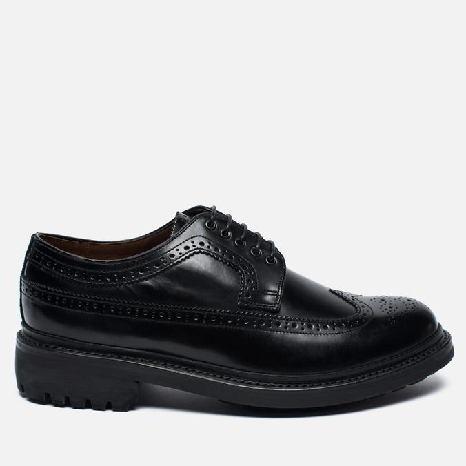 Grenson Sid Leather Men's Brogue Black