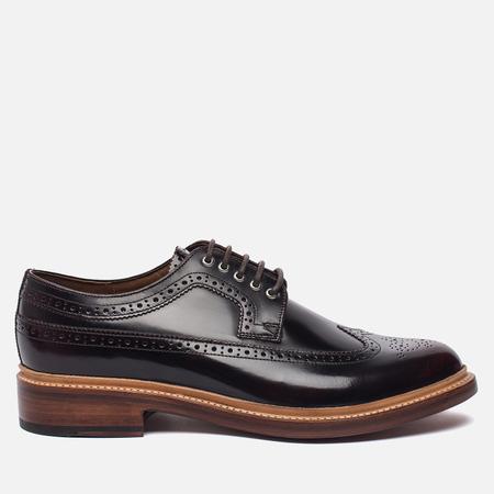 Мужские ботинки броги Grenson Sid Long Wing Brogue Burgundy