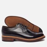 Мужские ботинки броги Grenson Sid Long Wing Brogue Burgundy фото- 2
