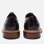 Мужские ботинки броги Grenson Sid Long Wing Brogue Burgundy фото- 3