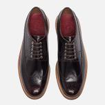 Мужские ботинки броги Grenson Sid Long Wing Brogue Burgundy фото- 4