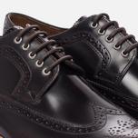 Мужские ботинки броги Grenson Sid Long Wing Brogue Burgundy фото- 5