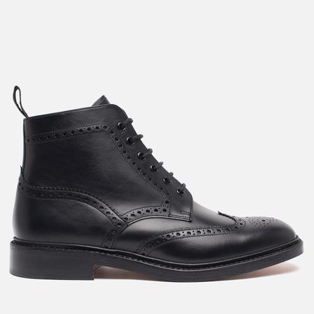 Мужские ботинки броги Loake Burford Black
