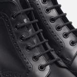 Мужские ботинки броги Loake Burford Black фото- 4