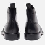 Мужские ботинки броги Loake Burford Black фото- 3