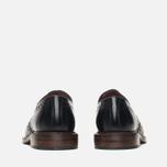Мужские ботинки броги Loake Dawson Polished Black фото- 3