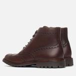 Мужские ботинки броги Loake Mulligan Brown Waxy фото- 2