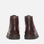 Мужские ботинки броги Loake Mulligan Brown Waxy фото- 3
