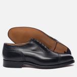 Мужские ботинки броги Tricker's Belgrave Black фото- 2