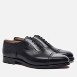 Мужские ботинки броги Tricker's Belgrave Black фото- 1
