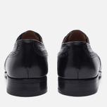 Мужские ботинки броги Tricker's Belgrave Black фото- 3