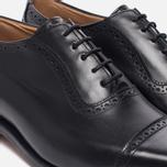 Мужские ботинки броги Tricker's Belgrave Black фото- 5