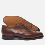 Мужские ботинки броги Tricker's Brogue Oxford Piccadilly Beechnut фото- 2