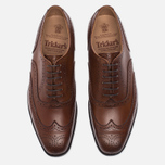 Мужские ботинки броги Tricker's Brogue Oxford Piccadilly Beechnut фото- 4