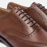 Мужские ботинки броги Tricker's Brogue Oxford Piccadilly Beechnut фото- 5