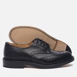 Мужские ботинки броги Tricker's Keswick Sole Leather Black фото- 2