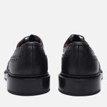 Мужские ботинки броги Tricker's Keswick Sole Leather Black фото- 3