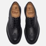 Мужские ботинки броги Tricker's Keswick Sole Leather Black фото- 4