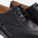 Мужские ботинки броги Tricker's Keswick Sole Leather Black фото- 5