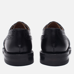 Мужские ботинки броги Tricker's Newbury Derby Sole Dainite Black фото- 3