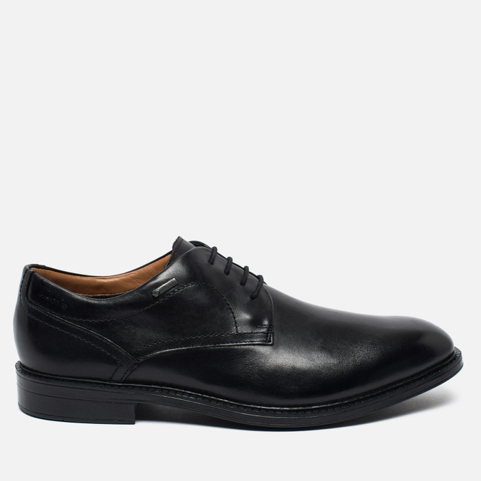 Мужские ботинки Clarks Originals Chilver Walk Gore-Tex Leather Black ... 28d2f05e65132