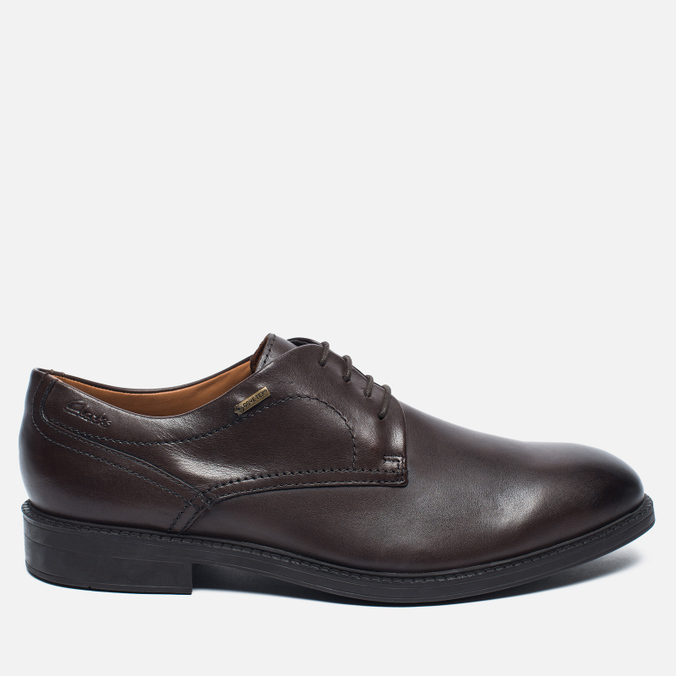 Мужские ботинки Clarks Originals Chilver Walk Gore-Tex Leather Dark Brown