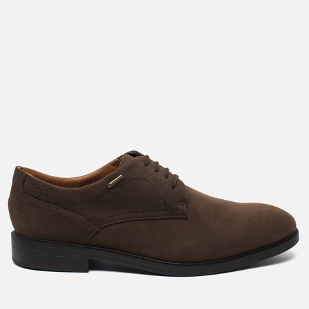 Мужские ботинки Clarks Originals Chilver Walk Gore-Tex Nubuck Dark Brown