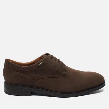 Clarks Originals Chilver Walk Gore-Tex Nubuck Men's Shoes Dark Brown