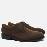 Мужские ботинки Clarks Originals Chilver Walk Gore-Tex Nubuck Dark Brown фото- 2