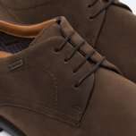 Мужские ботинки Clarks Originals Chilver Walk Gore-Tex Nubuck Dark Brown фото- 3