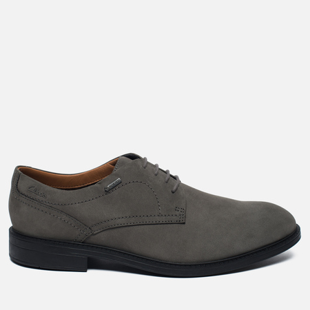 Мужские ботинки Clarks Originals Chilver Walk Gore-Tex Nubuck Grey