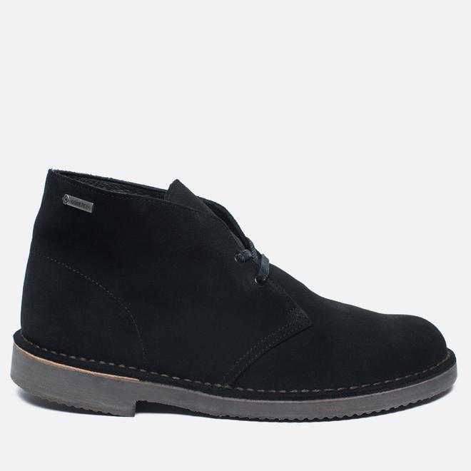 Мужские ботинки Clarks Originals Desert Boot Gore-Tex Suede Black